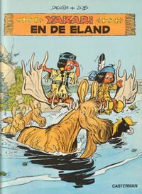Cover Thumbnail for Yakari (Casterman, 1977 series) #9 - Yakari en de eland