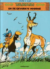 Cover Thumbnail for Yakari (Casterman, 1977 series) #23 - Yakari en de gevorkte hoorns