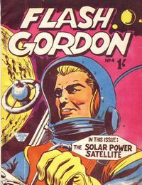 Cover Thumbnail for Flash Gordon (L. Miller & Son, 1962 series) #4
