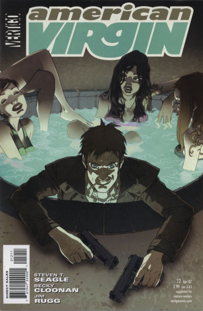 Cover for American Virgin (DC, 2006 series) #12