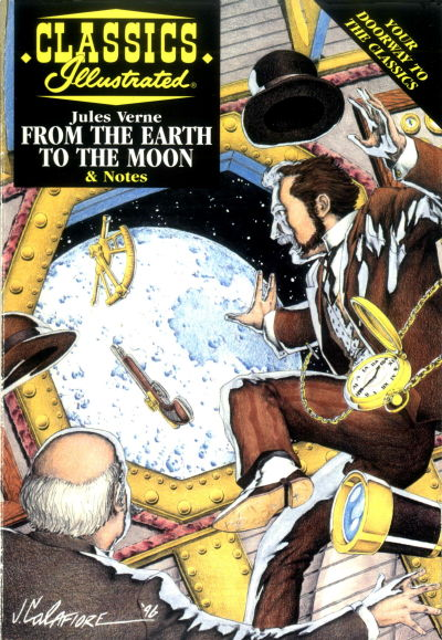 Cover for Classics Illustrated (Acclaim / Valiant, 1997 series) #26 - From the Earth to the Moon