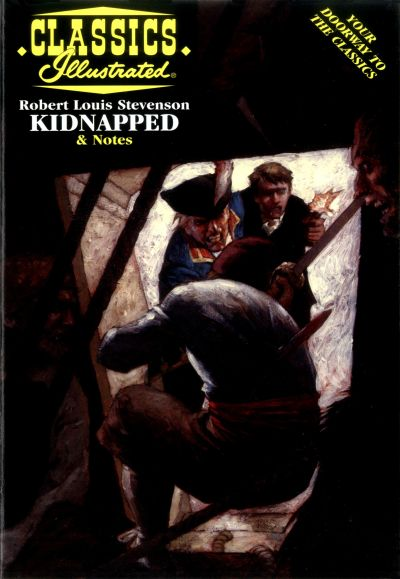 Cover for Classics Illustrated (Acclaim / Valiant, 1997 series) #53 - Kidnapped