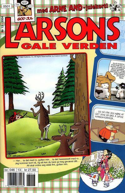 Cover for Larsons gale verden (Bladkompaniet / Schibsted, 1992 series) #13/2004