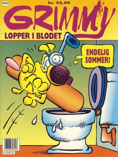 Cover for Grimmy (Bladkompaniet / Schibsted, 1995 series) #[1]