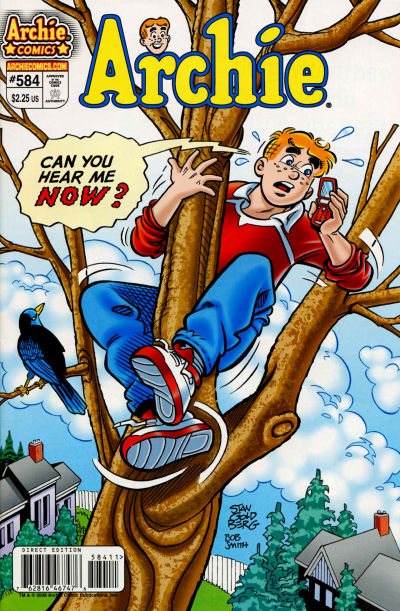 Cover for Archie (Archie, 1959 series) #584