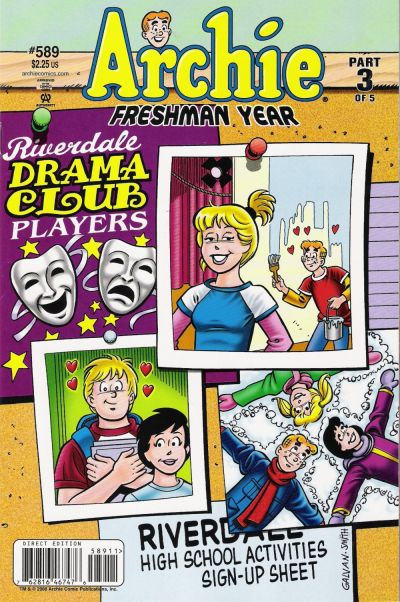 Cover for Archie (Archie, 1959 series) #589