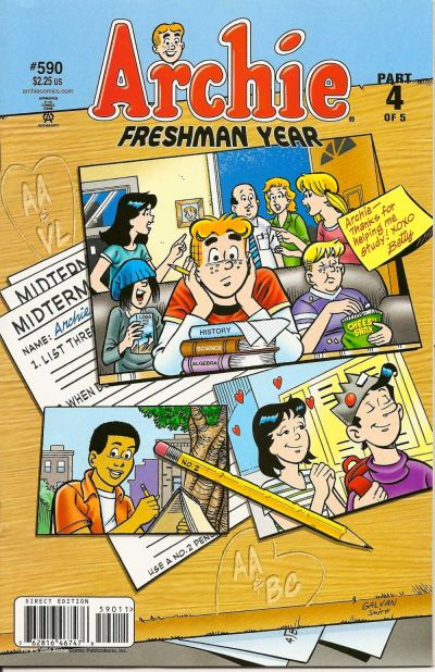Cover for Archie (Archie, 1959 series) #590
