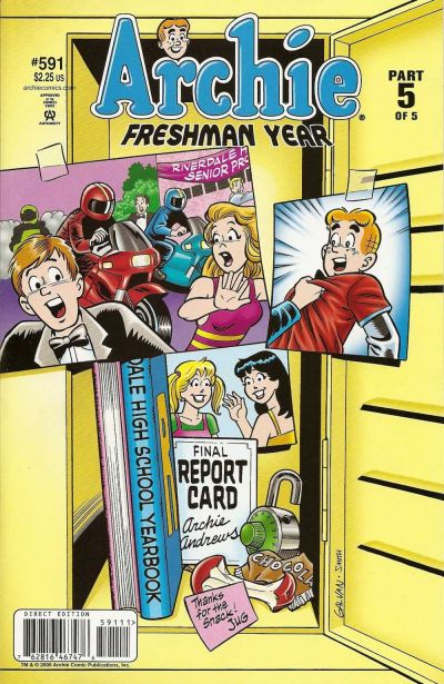 Cover for Archie (Archie, 1959 series) #591