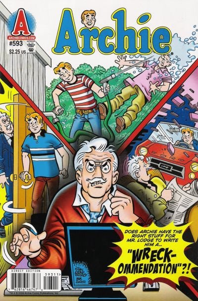 Cover for Archie (Archie, 1959 series) #593