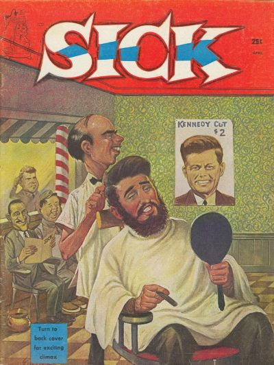 Cover for Sick (Prize, 1960 series) #v1#5 [5]