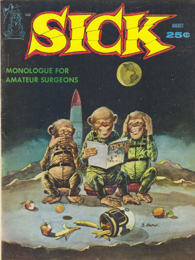 Cover for Sick (Prize, 1960 series) #v2#1 [7]