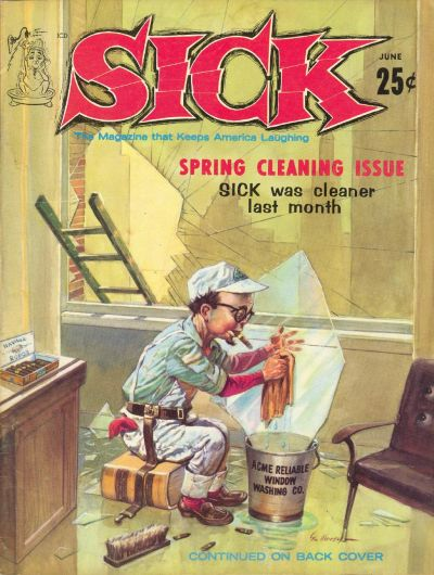 Cover for Sick (Prize, 1960 series) #v2#7 [13]