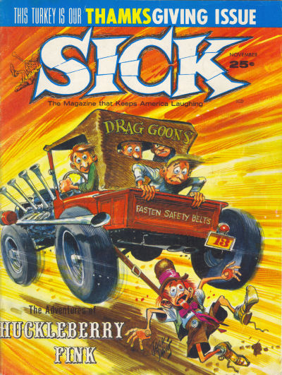 Cover for Sick (Prize, 1960 series) #32