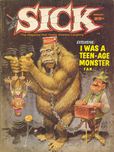 Cover for Sick (Prize, 1960 series) #34