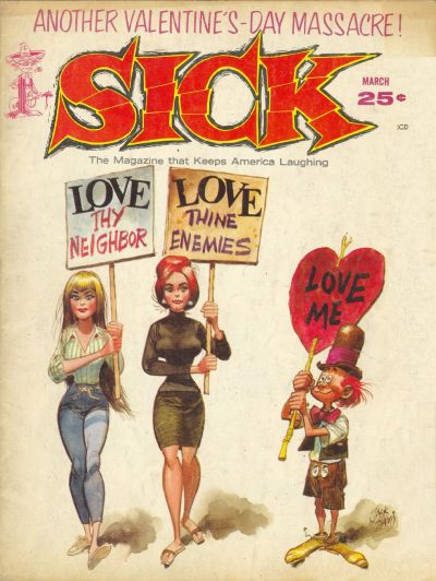 Cover for Sick (Prize, 1960 series) #35