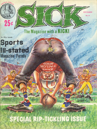 Cover for Sick (Prize, 1960 series) #41