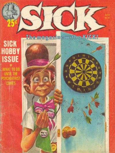 Cover for Sick (Prize, 1960 series) #v6#6 (45)