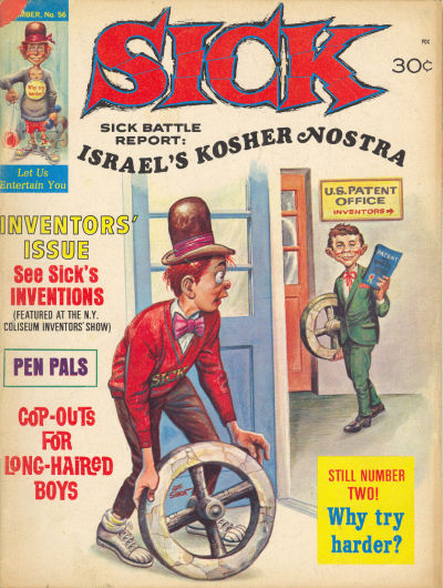 Cover for Sick (Prize, 1960 series) #56