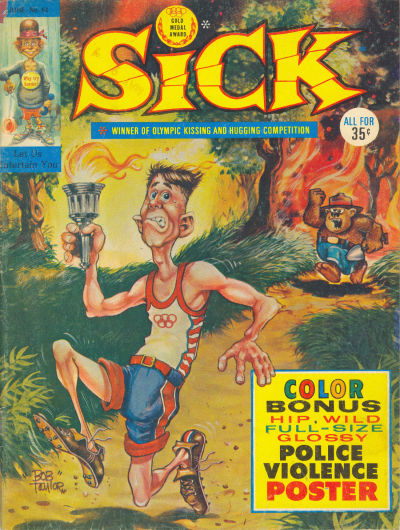 Cover for Sick (Prize, 1960 series) #61