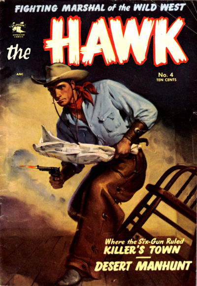 Cover for The Hawk (St. John, 1953 series) #4