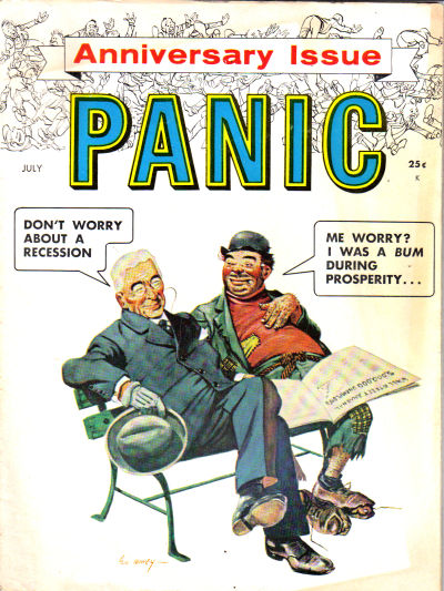 Cover for Panic (Panic Publications, 1958 series) #1