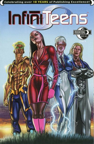Cover for Infiniteens (Moonstone, 2006 series) #1 [Cover A]