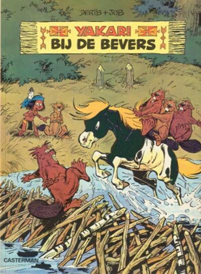 Cover for Yakari (Casterman, 1977 series) #3 - Bij de bevers