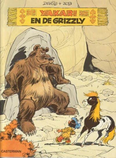 Cover for Yakari (Casterman, 1977 series) #5 - Yakari en de grizzly