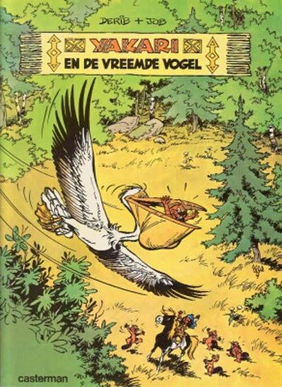 Cover for Yakari (Casterman, 1977 series) #7 - Yakari en de vreemde vogel
