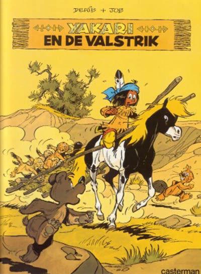 Cover for Yakari (Casterman, 1977 series) #10 - Yakari en de valstrik