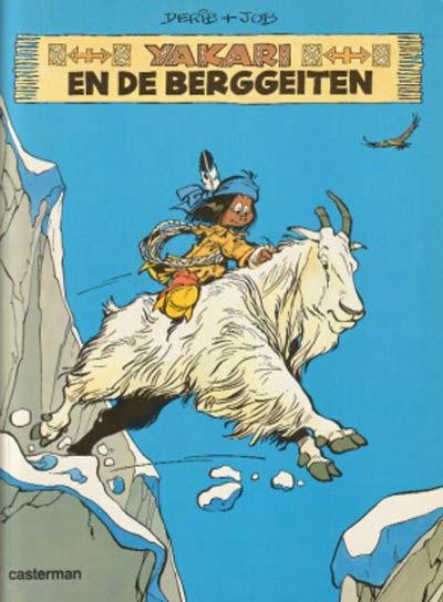 Cover for Yakari (Casterman, 1977 series) #11 - Yakari en de berggeiten