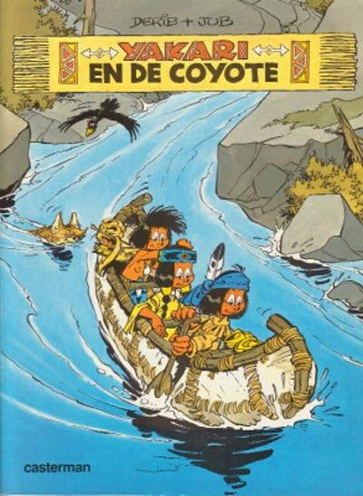Cover for Yakari (Casterman, 1977 series) #12 - Yakari en de coyote
