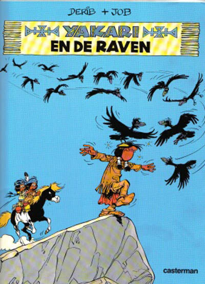 Cover for Yakari (Casterman, 1977 series) #14 - Yakari en de raven