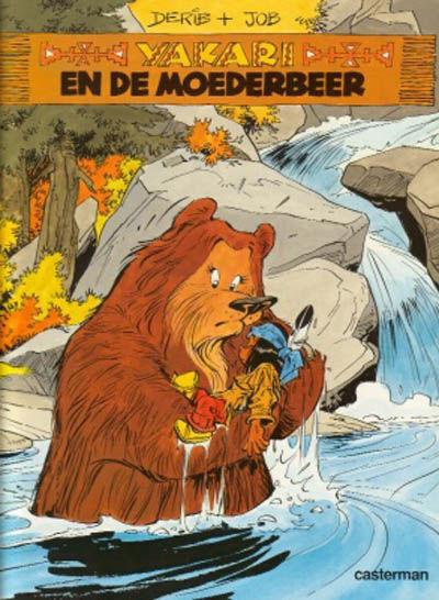 Cover for Yakari (Casterman, 1977 series) #15 - Yakari en de moederbeer