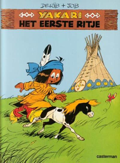 Cover for Yakari (Casterman, 1977 series) #16 - Het eerste ritje