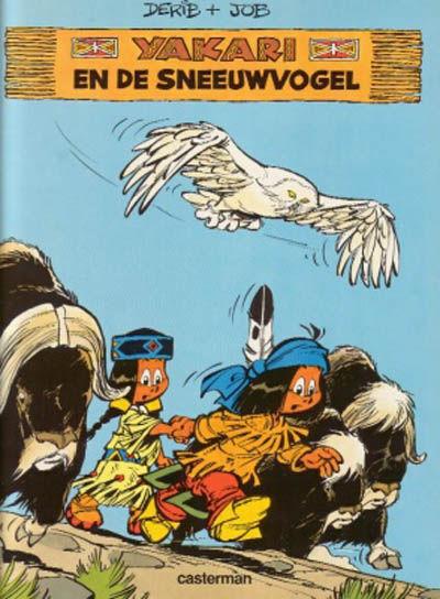 Cover for Yakari (Casterman, 1977 series) #18 - Yakari en de sneeuwvogel
