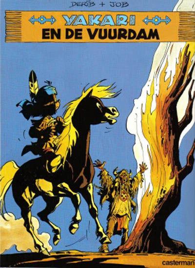 Cover for Yakari (Casterman, 1977 series) #19 - Yakari en de vuurdam