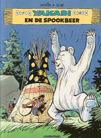 Cover for Yakari (Casterman, 1977 series) #24 - Yakari en de spookbeer