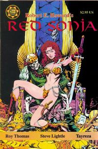 Cover Thumbnail for Red Sonja A Death in Scarlet (Cross Plains Comics, 1999 series)