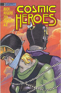 Cover Thumbnail for Cosmic Heroes (Malibu, 1988 series) #2