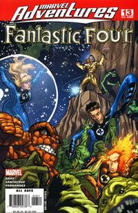 Cover Thumbnail for Marvel Adventures Fantastic Four (Marvel, 2005 series) #13