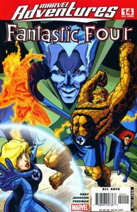 Cover for Marvel Adventures Fantastic Four (Marvel, 2005 series) #14