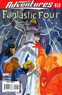 Cover Thumbnail for Marvel Adventures Fantastic Four (Marvel, 2005 series) #15