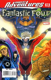 Cover Thumbnail for Marvel Adventures Fantastic Four (Marvel, 2005 series) #16