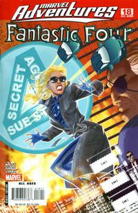 Cover for Marvel Adventures Fantastic Four (Marvel, 2005 series) #18