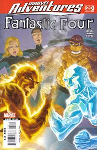 Cover Thumbnail for Marvel Adventures Fantastic Four (Marvel, 2005 series) #20
