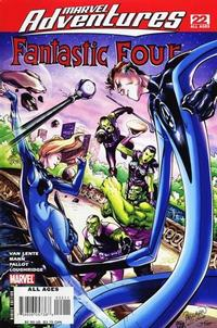Cover Thumbnail for Marvel Adventures Fantastic Four (Marvel, 2005 series) #22