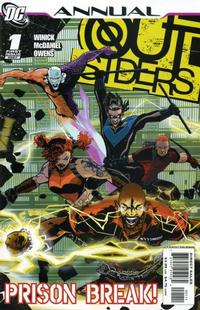 Cover Thumbnail for Outsiders Annual (DC, 2007 series) #1