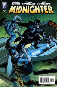 Cover Thumbnail for Midnighter (DC, 2007 series) #3