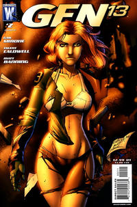 Cover Thumbnail for Gen 13 (DC, 2006 series) #2 [Caldwell Standard Cover]